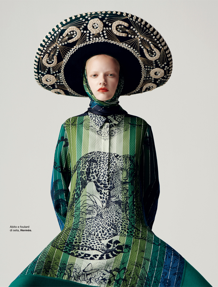 Mira Alldinger for D La Repubblica by Kiki Xue | Chic Management