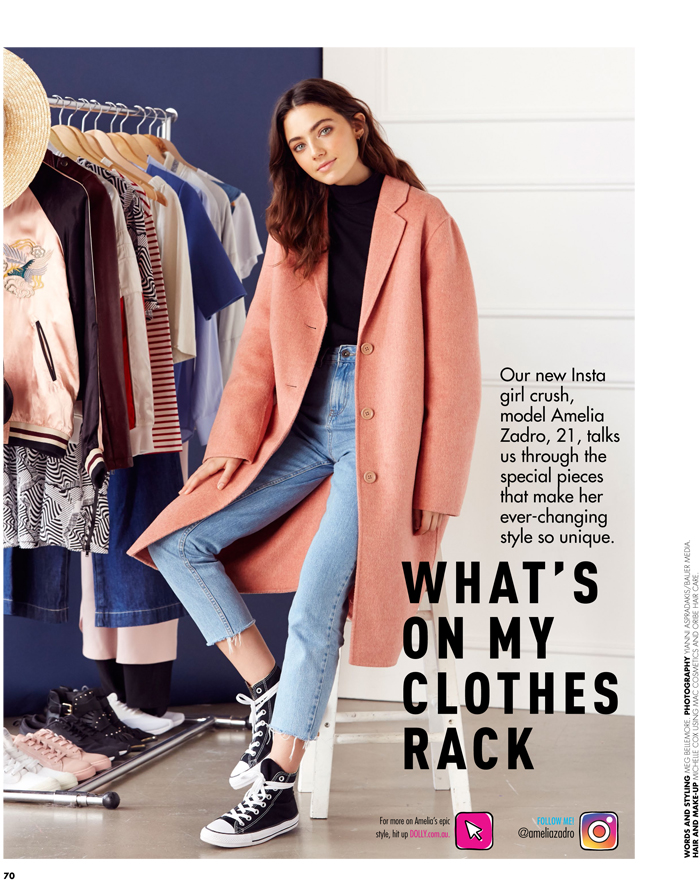 WHATS ON MY CLOTHES RACKAmelia